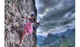 周三/周六/周日 |绝壁上的舞者,幽岚山飞拉达挑你人生当中第一次不可能适合新人,恐高勿报