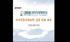 DEChina2018 第十四届中国分布式能源国际论坛 暨分布式能源展览会