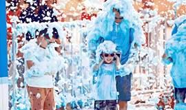 杭州首场沙滩彩虹泡泡跑来啦!12万平方米沙滩、6万平方米山泉浴场、绿城沙滩足球嘉年华,还有小朋友最爱的泡泡都在这里!