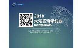 2018大湾区青年创业-创业路演专场