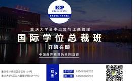 重庆大学国际MBA学位总裁班8月徐京老师《公司治理与股权激励》课程试听申请