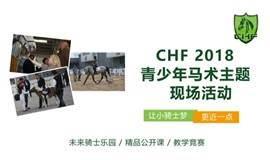CHF 2018海南赛马论坛及青少年马术主题现场活动