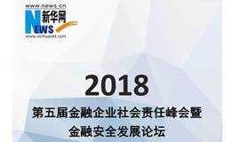 2018第五届金融企业社会责任峰会暨金融安全发展论坛
