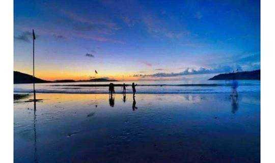 中秋浪漫海岛计划:篝火晚会,帐篷露营、海边日出……