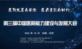 医疗风向丨第三届中国医院能力建设与发展大会