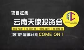 云南天使投资会第36期项目路演会项目征集
