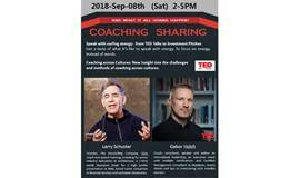 COACHING SHARING---From TED Speaker and  TEDx Coach