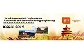 2019第四届可持续和可再生能源工程国际会议(ICSREE 2019)--Ei核心与Scopus双检索