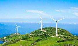 10.14 徒步东白山,在风车和蓝天下放逐,草甸和云海中飞舞~