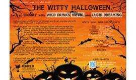 Witty Wine Halloween Party