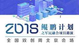 鲲鹏计划之军民融合项目路演(2018年全国双创周北京会场 )