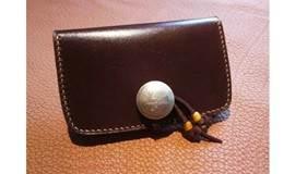 【周末见 皮具课】做一个最适合自己的真皮财布扣卡包