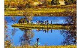 已成型 国庆10.5-7 乌兰布统草原,公主湖,桦木沟白桦林,半天越野车深入草原,纯玩户外休闲摄影