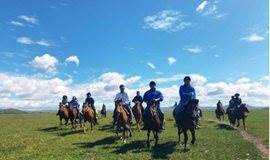 五一假期 坝上草原 骑马 免费烤全羊 神仙谷七彩森林 篝火狂欢!