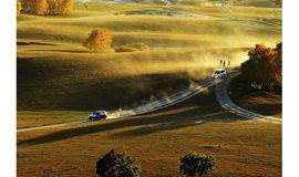 秋天的童话世界丨乌兰布统行摄:赏最美白桦林,体验最炫酷的越野车
