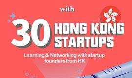 Bee+创业社区夜 x 30个香港科创团队 Community Night with 30 Hong Kong Startups