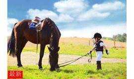 亲子马术体验,做一个快乐小骑士