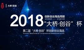 """【创业大赛报名】第二届""""大桥·创谷""""杯创新创业海选"""