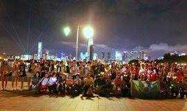 【已满员】光棍节我想去浪 深圳湾百人荧光夜徒 第27期 11月11日