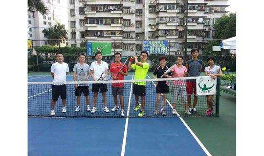 深圳网球培训 凉爽无太阳 零基础网球活动