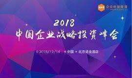 2018中国企业战略投资峰会