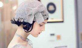 超仙纯马海毛帽子钩织