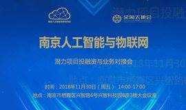南京人工智能投融资与业务对接会