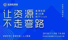 区块链资源对接-金海社区(深圳)第25期线下club