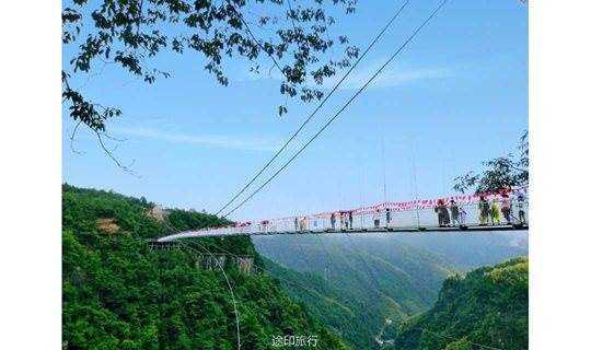 12.15~12.16网红华东第一高玻璃桥,探访乌石村