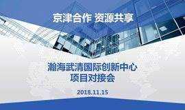 瀚海武清国际创新中心 项目对接会
