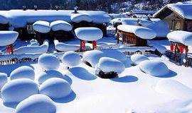 (每期成行)【东北冰雪盛宴 8天】冰城哈尔滨 雪乡徒步穿越 梦幻老里克湖 吉林滑雪 诗画长白山 吉林赏雾凇