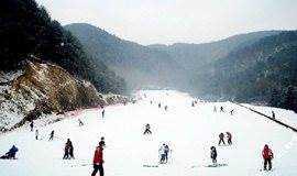 离杭州最近的滑雪场,大明山滑雪劲爽之旅
