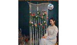 圣诞节编织挂毯工作坊 ,一场美学派对