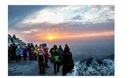 【湖南南岳衡山2日游】高铁天天发车;赏雾淞雪景奇观、看日出、登高祈福
