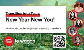Wed 26th: Transition into Tech 'New Year New You!'