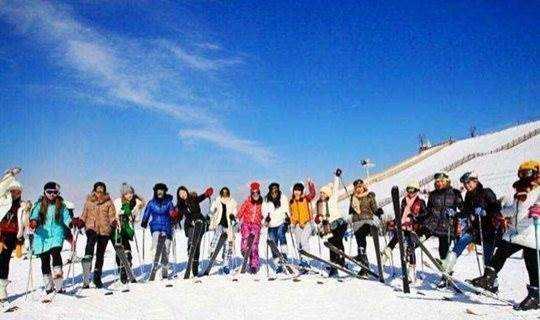 天荒坪滑雪,劲爽一下