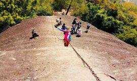 1天游【特惠88元】12月8,9日两期 | 惠州丹霞地貌马鞍山、穿越一线天、体验攀岩、原始古朴的驿道、飞檐走壁、心跳之旅