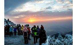 【湖南南岳衡山3日游】高铁天天发车;赏雾淞雪景奇观、看日出、登高祈福