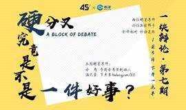 【一块辩论】|罕见理性有趣的区块链辩论赛