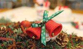 圣诞花环DIY(抽取12组参加)