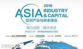 2018亚洲产业与资本峰会