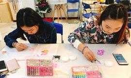 手工DIY刺绣挂件????零基础体验课