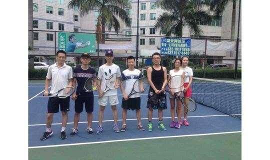 深圳网球培训 工作之余一起周末凉爽无太阳 零基础网球活动