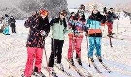 [友行友派|2.16周六] 怀北夜场滑雪,睡个懒觉和大超一起去滑雪!