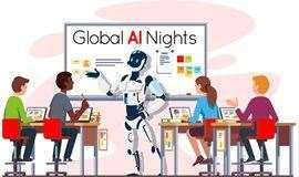 全球AI之夜 - 上海滩暮色