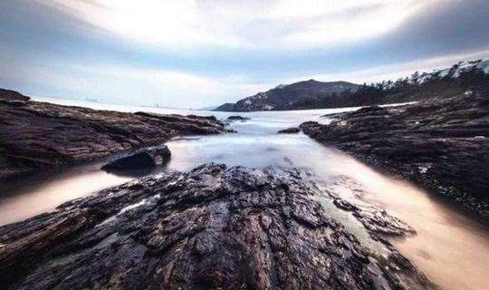 """最靓海岸线-""""黑排角""""徒步穿越"""