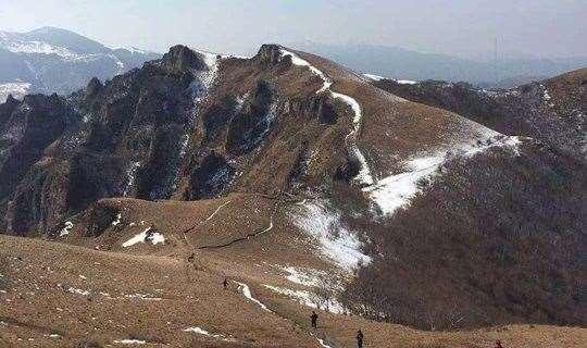 北灵山休闲踏雪摄影腐败游