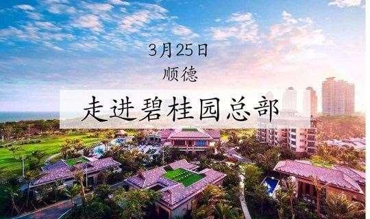 名企参访-企业家走进顺德碧桂园总部探索魅力