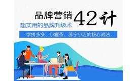 《品牌营销经典案例》史杰松老师:超实用的品牌营销42计