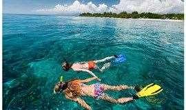 2天游【周末】惠州桑洲岛露营、沙滩烧烤、划浆板冲浪、帆船出海、浮潜体验海底世界、荧光晚会、快艇冲浪、休闲纯玩